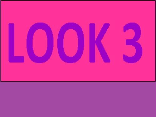 LOOK 3 VIOLET