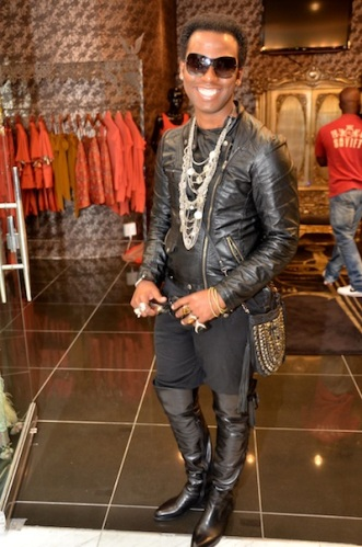 David Tlale Store Openning