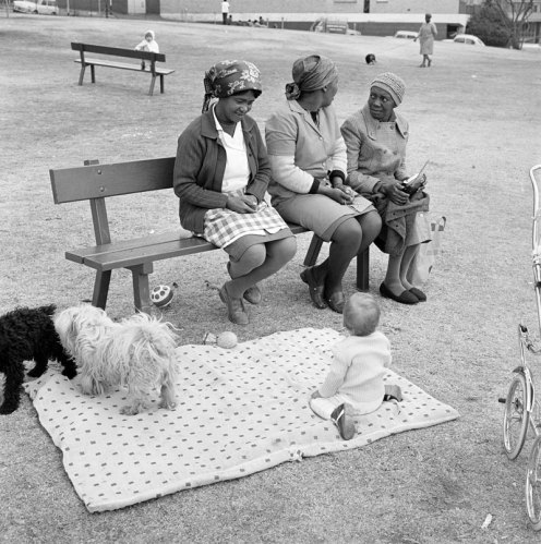 37-baby-with-childminders-and-dogs-in-the-alexandra-street-park-1972-smaller