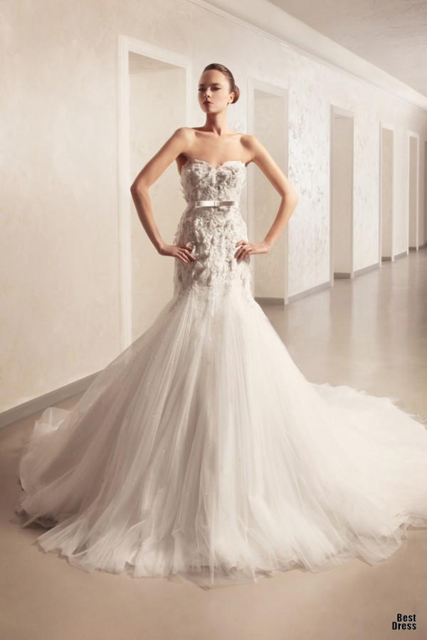 Georges Hobeika in Spring 2012 Bridal Collection 22
