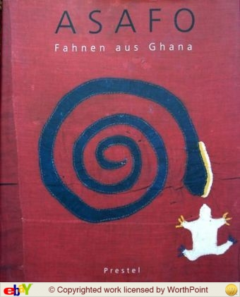 0 Couverture livre Asafo, Fahnen aus Ghana