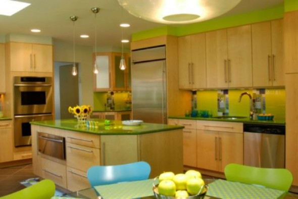 Green-in-the-Kitchen-for-Your-Rooms-590x394