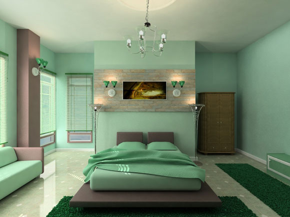 minimalist-green-bedroom-interior-design-pictures