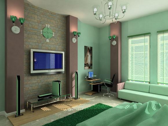 minimalist-luxury-green-bedroom-interior-dcor-photo