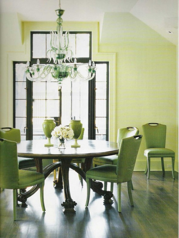 the-combination-of-green-brown-color-make-dining-room-elegant-combination-color-room-590x785
