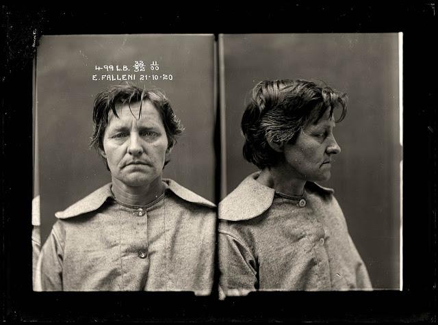 Z photo-police-sydney-australie-mugshot-1920-33 FALLENI