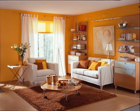 13-Wohnzimmer-orange-570x450