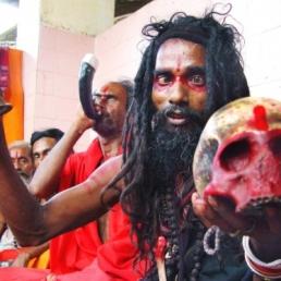 black-magic-holyman-holds-human-skull-guwahatis-kamakhya-temple-which-believed-be-highest