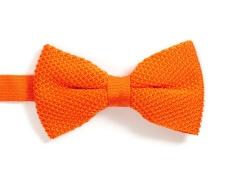 noeud-papillon-orange-tricot